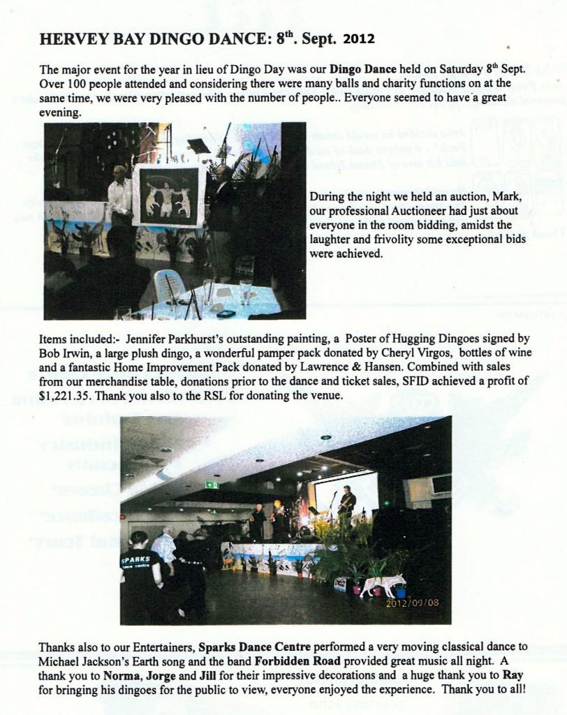 dingo dance Sept 8 2012